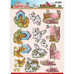 Yvonne Creations knipvel country life CD11060 (Locatie: 6308)