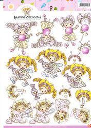 Yvonne Creations knipvel meisje CD10145 (Locatie: 2694)
