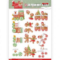 Yvonne Creations stansvel kerstkoekjes SB10396 (Locatie: 5025)