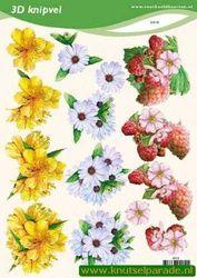 Voorbeeldkaarten knipvel bloemen 2010 (Locatie: 6638)