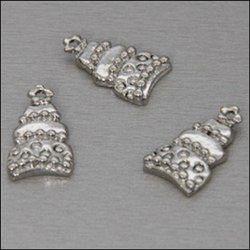 My Treasure bedel nikkelkleur Taart 2 stuks 04109 (Locatie: K3)