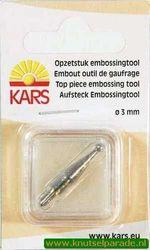 Embossingtool opzetstuk 3MM 500001/0055 (Locatie: 4RR5 )
