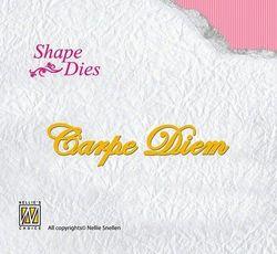 Nellie Snellen snij- en embosmal Carpe Diem SD043 (Locatie: M65)