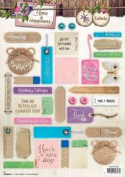 Home & Happiness 3DA4 Stansvel Pictures & Labels EASY552 (Locatie: 141)