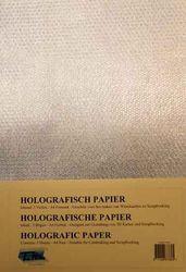 Holografisch papier Honingraat zilver 5 vel A4 HP-111 (Locatie: 4331)