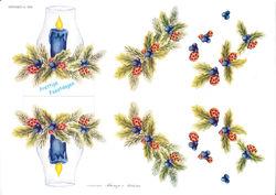 Wekabo knipvel kerstmis 568 (Locatie: 6014)