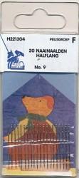Naainaalden halflang 20 stuks no.9 H221304
