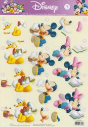 Disney knipvel STAPDIS07 (Locatie: 2739)