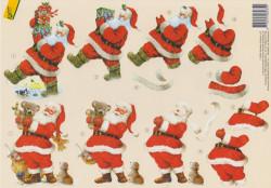 Avec knipvel kerstman (Locatie: 2657)