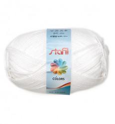 Stafil wol, wit, 50 gram, 133 meter