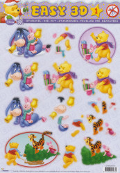 Studio Light stansvel Winnie The Pooh STAPEASY01 (Locatie: 0532)
