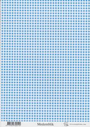 Marjoleine knipvel blauw achtergrond A4 vel Medemblik (Locatie: 6560)