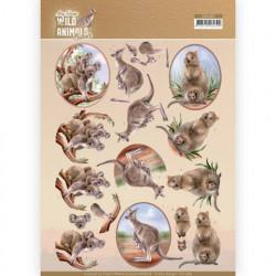 Amy Design knipvel dieren CD11483 (Locatie: 1545)