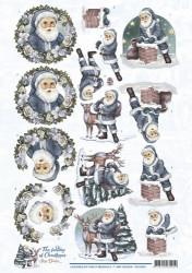 Amy Design knipvel kerstman CD10921 (Locatie: 0516)