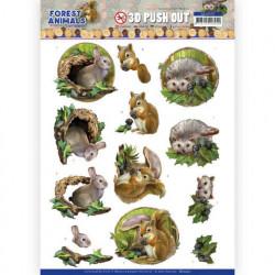 Amy Design stansvel Forest Animals - Rabbit SB10537 (Locatie: 1720)
