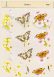 Boekensteuntje knipvel vlinders 0061 (Locatie: 2848)
