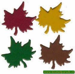 Brad maple leaf bladeren 25 stuks 20811/009 (Locatie: K2)