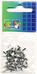 Brad vierkant zilver 50 stuks nr. 10828/13 (Locatie: 1A )