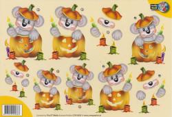 Creddy World knipvel halloween CW10023 (Locatie: 4318)