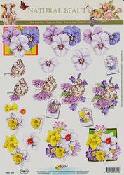 Doe Maar knipvel bloemen 11053-314 (Locatie: 1142)