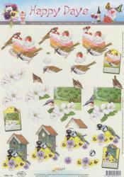 Doe Maar knipvel vogels 11053-157 (Locatie: 5512)