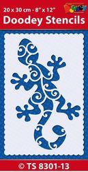 Doodey Stencil Gekko TS8301-13 (Locatie: 4630)