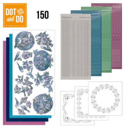 Dot and Do 150 Birds in purple DODO150
