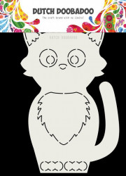 Dutch Doobadoo Card Art Kat A5 stencil 470.713.767 (Locatie: 1348)
