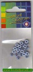Eyelets blauw 25 stuks nr. 20407/04 (Locatie: 5RC1 )