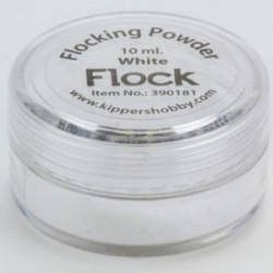 Flocking Powder White 390181