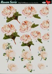 Hearty Crafts knipvel rozen 4 (Locatie: 1311)