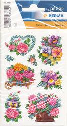 Herma nostalgische bloemenvazen 3 vel 3354 (Locatie: U175)