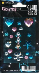 Herma stickers Glam Rocks Hearts and Stars 1 vel 5042 (Locatie: HE021)