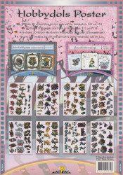 Hobbydols poster nr. 122 en 123