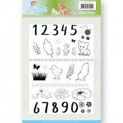 Jeanine's Art Clear Stamp Young Animals JACS10024 (Locatie: k129)