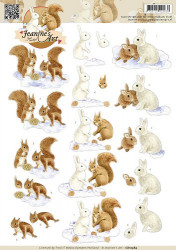 Jeanine's Art knipvel dieren CD10584 (Locatie: 0910)
