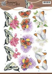 Jeanine's Art knipvel vlinders CD10933 (Locatie: 4625)