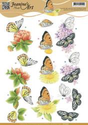 Jeanine's Art knipvel vlinders CD10936 (Locatie: 2393)