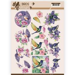 Jeanine's Art knipvel vogels en bloemen CD11219 (Locatie: 4632)
