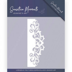 Jeanine's Art snij- en embosmal Sensitive Moments Swirl Border JAD10098 (Locatie: M135)