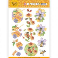 Jeanine's Art stansvel buzzing bees SB10368 (Locatie: 2574)