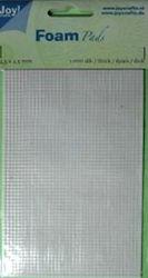 Joy!Crafts foampads 0.5mm dik, 2.5x2.5mm 6500/0010