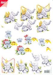 Joy Crafts knipvel dieren 60101016 (Locatie: 2836)