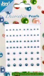Joy decorative pearls azuurblauw 6020/0017 (Locatie: K2)