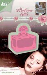 Joy! snij- en embosmal parfumflesje rechthoek 6002/0228 (Locatie: E308)