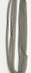 Ketting fijn zilverkleur 1,9 mm 1 mtr. 11809-9401 (Locatie: K3)