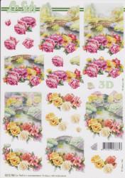 Le Suh 3D Knipvel Bloemen 8215786 (Locatie: 2856)
