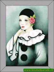 Le Suh 3D schilderij pierrot nr. 4135002 (Locatie: 0203)