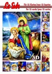 Le Suh boekje A5 Kerststal 345656 (Locatie: KB)