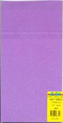 Le Suh kaarten 13x26cm linnenstructuur paars 10 stuks 415577 (Locatie: S1)